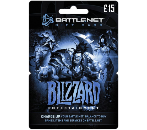 Battle.net Balance Card 15£ UK تحویل آنی