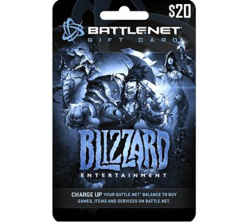 Battle.net Balance Card 20$ US تحویل آنی