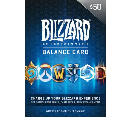Battle.net Balance Card 50$ US تحویل آنی