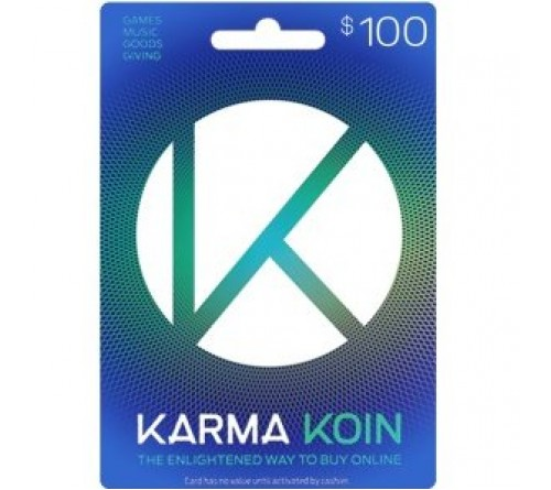 Karma Koin USD100 (Global)