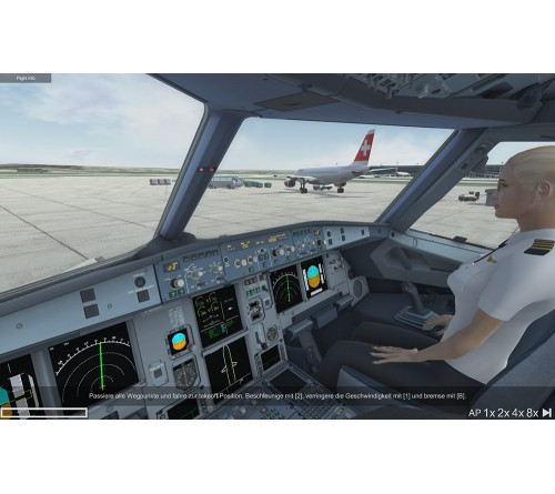 A320 Simulator Ready for Take Off - Steam