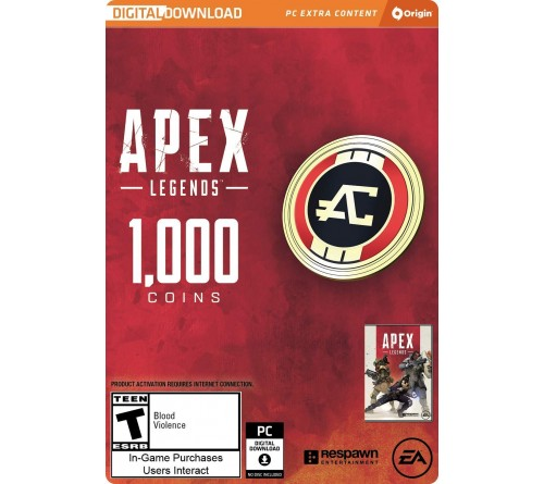 APEX Legends 1000 Apex Coins PC تحویل آنی