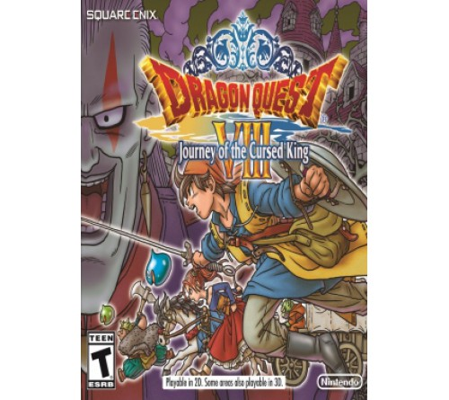 Dragon Quest 8: Journey of the Cursed King - 3DS