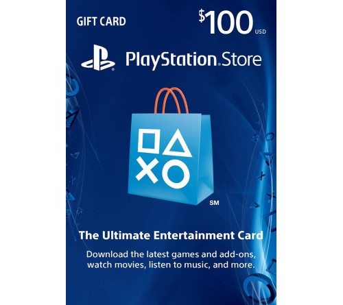 PlayStation Network USD100 امریکا