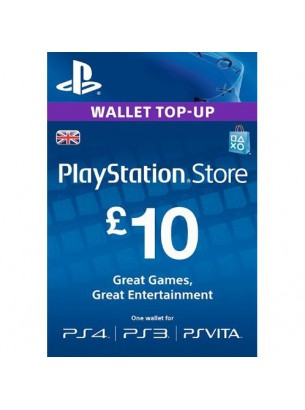 PlayStation Network GBP10 انگلستان