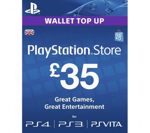 PlayStation Network GBP35 انگلستان