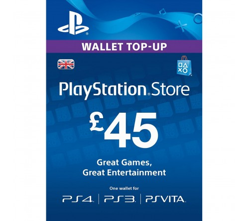PlayStation Network GBP45 انگلستان