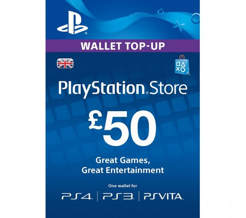 PlayStation Network GBP50 انگلستان