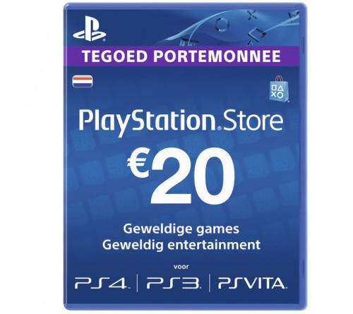 PlayStation Network EUR20 هلند