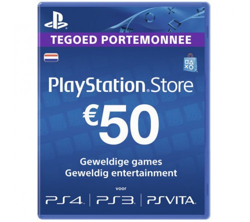 PlayStation Network EUR50 هلند