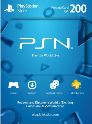 PlayStation Network RM200 مالزی