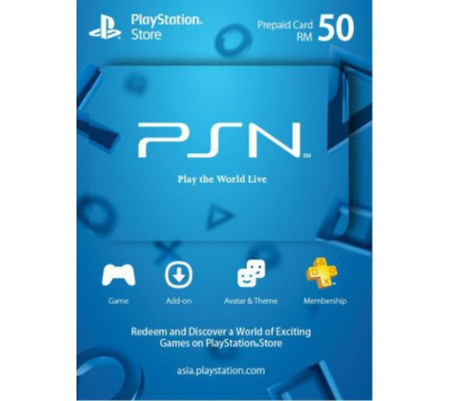 PlayStation Network RM50 مالزی