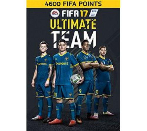 Fifa 17 4600 Points Xbox ONE