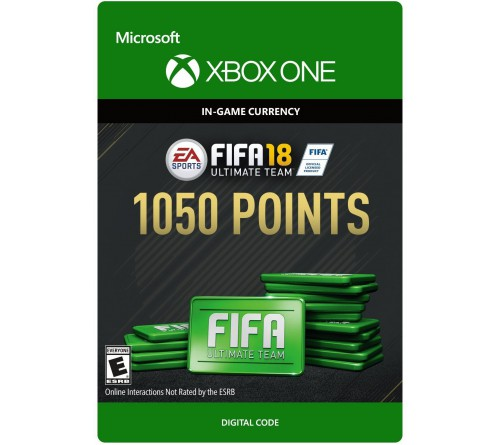 Fifa 18 1050 Points Xbox ONE