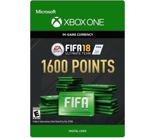 Fifa 18 1600 Points Xbox ONE