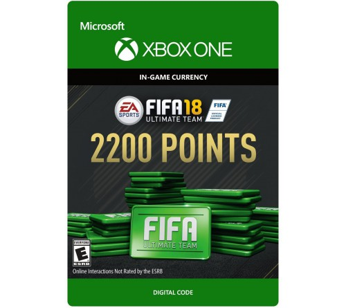 Fifa 18 2200 Points Xbox ONE