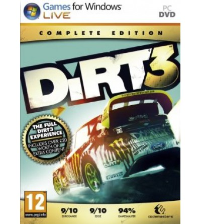 Dirt 3 Complete Edition - Steam