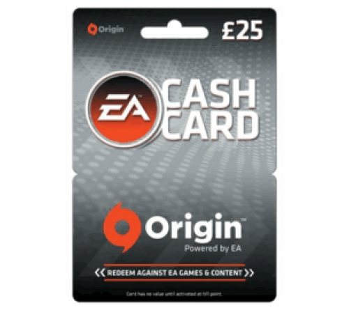 EA Cash Card GBP25 انگلستان