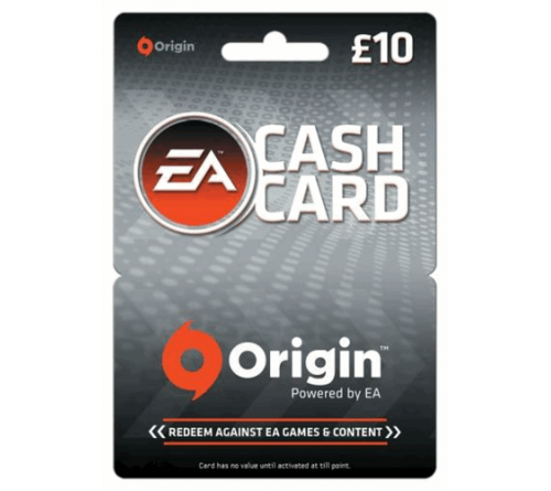 EA Cash Card GBP10 انگلستان