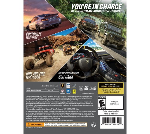 Forza Horizon 3 Ultimate (PC / Xbox One) - Xbox Play Anywhere