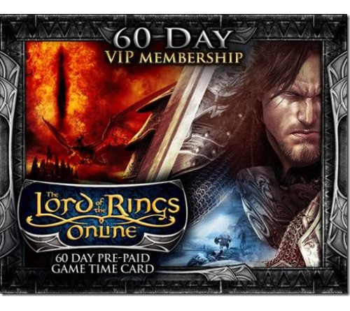 LOTRO VIP GameCard 60 Days