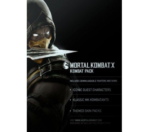 Mortal Kombat X: Kombat Pack DLC - Steam