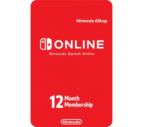 Nintendo Individual Membership 12 Month UK