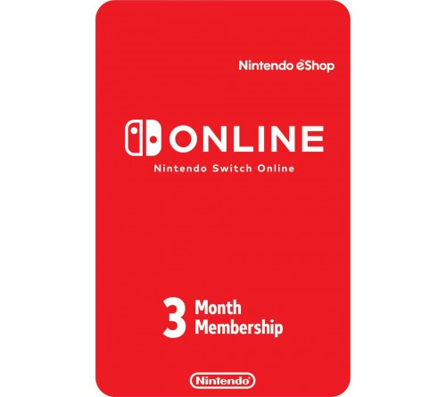 Nintendo Individual Membership 3 Month UK