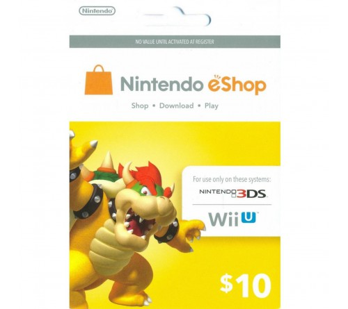 Nintendo eShop Card USD10