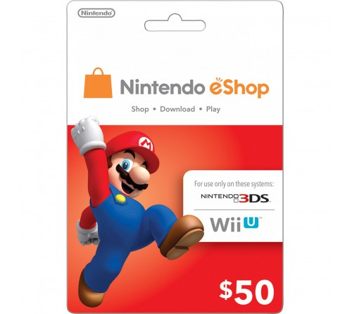 Nintendo eShop Card USD50