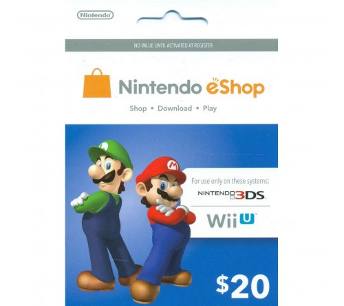 Nintendo eShop Card USD20