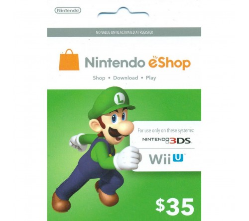 Nintendo eShop Card USD35