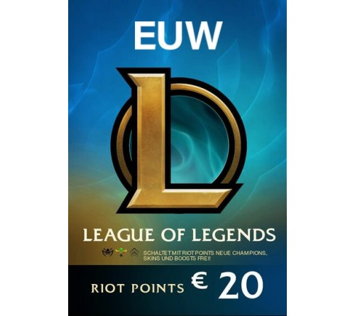 Riot Point 20EUR 2800RP EUW