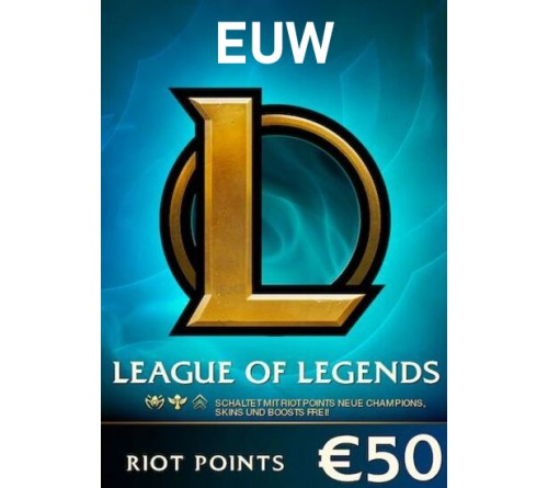Riot Point 50EUR 7200RP EUW