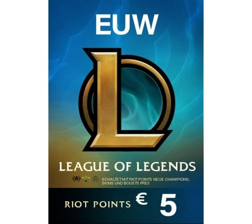 Riot Point 5EUR 650RP EUW
