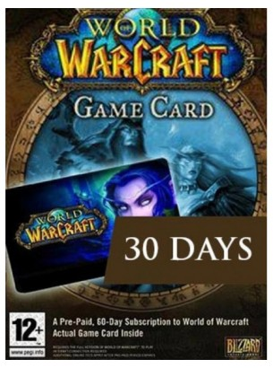 World of Warcraft : 30 Days Game Time - US