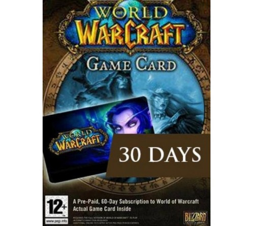 World of Warcraft : 30 Days Game Time - EU تحویل آنی