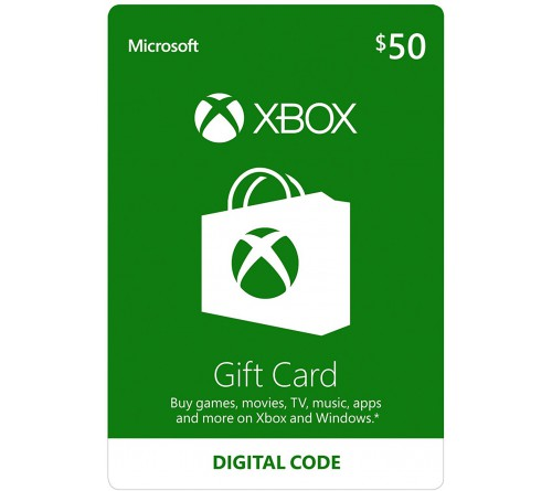 XBOX Gift Card 50$