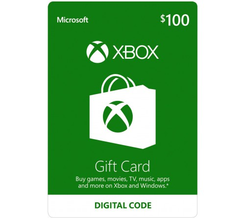 XBOX Gift Card 100$