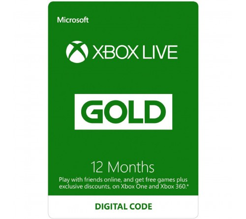 Xbox Live Gold 12months