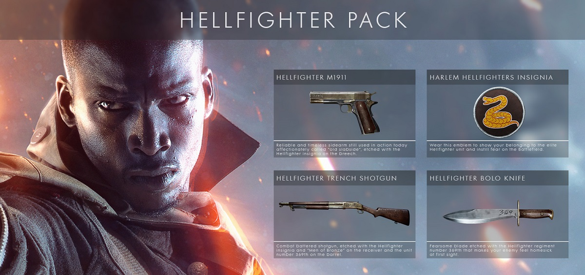 Battlefield 1 Hellfighter Pack